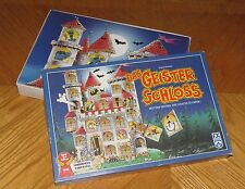 Ghost Castle - Vintage German Board Game - Memory Matching - Das Geister Schloss