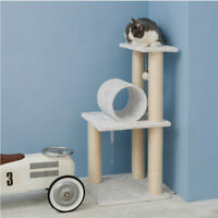 Cat Tree Condo Scratching Post Cat Tower Climbing Toy Play House Free Shipping