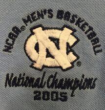 Antigua North Carolina Tar Heels UNC 2005 National Champions Polo Shirt Men's M