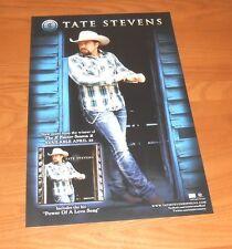 Tate Stevens Promo 2013 Poster 11x17