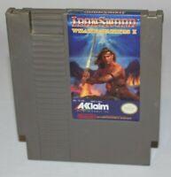 Iron Sword Wizards & Warriors II NES AUTHENTIC Tested