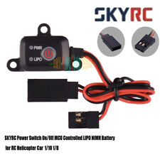 SKYRC Power Switch On/Off MCU Controlled LIPO Battery for RC copter Car 1/10 1/8