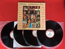 COFFRET GRANDS MOMENTS 10 ANS CHANSON FRANÇAISE GALL LAMA VG 4X VINYLES 33T LP