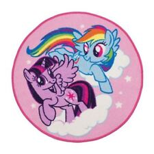 Kids My Little Pony Equestria Floor Rug Mat Children Bedroom Playroom Accessory