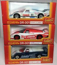 3 x Tomica Dandy Nissan Lemans Cars *Coca-Cola , Skyline , BMB ** 1:43 Scale