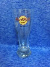 "Hard Rock Cafe Atlanta 8.25"" Tall PILSNER GLASS w/Classic HRC Logo GLASSWARE"
