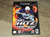 NHL Hitz 2003 Nintendo Gamecube Complete CIB Authentic