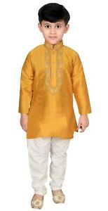 Boys Indian Sherwani Kurta Pyjama Pakistani Shalwar Kameez Bollywood Theme 953