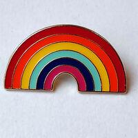 UK STOCK Rainbow LAPEL Pin Badge Thank You NHS key workers GIFT proud Pride