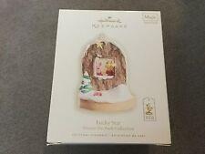 "Disney Winnie the Pooh Collection ""Lucky Star"" Hallmark Magic Ornament 2008 NIB"