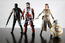 REY BB8 FINN POE DAMERON Star Wars Elite Series figure die-cast loose force jedi