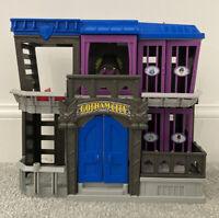 Fisher Price DC Batman Gotham City Jail Playset Super Friends Imaginext