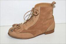 COMPTOIR DES COTONNIERS Bottines Boots à Lacets Daim  Marron Clair T 36 BE