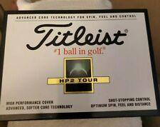 New 1 Dozen Titleist Hp2 Tour / Distance Golf Balls