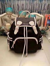 Steve Madden Bsolly Black / Multi Drawstring Nylon Backpack Travel Bag