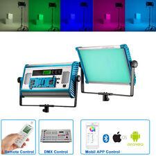 Yidoblo A2200C LED RGB Color Dimmable Light DMX/App Control V-mount Panel Lamp