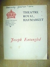 1904 Theatre Royal Programme- C Maude in JOSEPH ENTANGLED & THE WIDOW WOOS