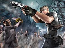 """Resident Evil Game poster 17"""" x 13"""" Decor 18"""