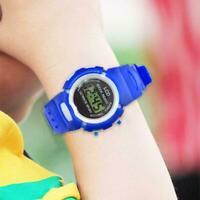 Kinder Kind Junge Mädchen Uhr Multifunktions Sport Versorgu elektronische U B1J9