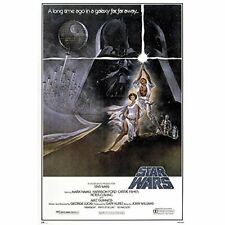 Poster Star Wars retro cartel