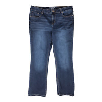 Maurice's 16 Short Dark Wash Blue Jeans Mid-Rise Bootcut