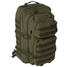 Large Padded One Strap Assault Sling Pack Military Hunting MOLLE Backpack Olive