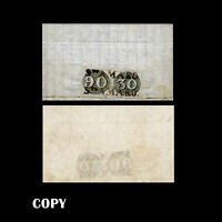 Brazil to Portugal 1843 Cover  Two Bull's-Eye 30r # 1b& 90r #3b,$77,500 Replica