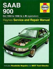 Haynes Manuals SAAB 900 1993-1998 PTOM l a r la registrazione