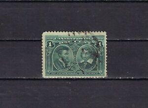P3158- CANADA 1908 - FONDAZIONE QUEBEC  N. 86 USATO