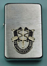 SPECIAL FORCES WIND PROOF PREMIUM LIGHTER IN A GIFT BOX  ARMY   LBC022
