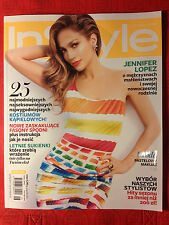 JENNIFER LOPEZ RIHANNA ELIZABETH OLSEN - InStyle Polish magazine No 6/2014