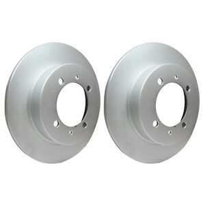 Rear Brake Discs 260mm fits Volvo S40 644 1.8 2.0 1.9 T4 2.0 T 2.0 T4