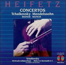 HEIFETZ Tchaikovsky & Mendelssohn: Concertos (CD, RCA) SEALED