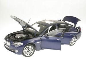 BMW F10 550i blue diecast model car 183247 Norev 1/18
