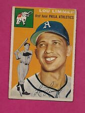 1954 TOPPS # 232 ATHLETICS LOU LIMMER  EX CARD (INV# A3630)