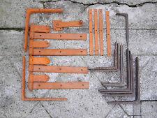 Lot de Ferrures / Pentures pour Volets + Lot équerres - Porte Fenêtre Bricolage