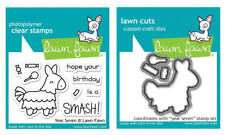 Lawn Fawn Stamps OR Die Set - Year Seven (LF1338 Stamps) OR (LF1339 Dies)