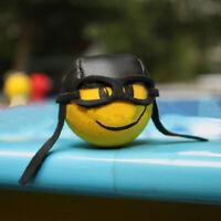 1X Car Pilot Antenna Pen Ball Topper Cute EVA Aerial Home Decor Toy Yellow