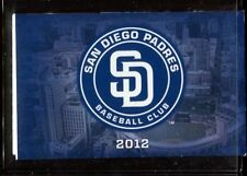 Schedule Baseball San Diego Padres - 2012 - Petco