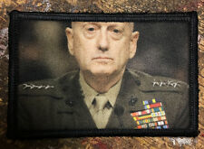 General Mattis Morale Patch Tactical Military Army Badge Hook Flag USA Trump