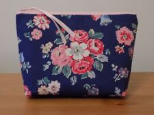 Handmade Make Up Bag Case Cath Kidston Forest Bunch Cotton Canvas Floral Fabric