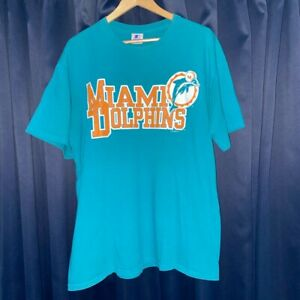 Vintage Starter Miami Dolphins Double sided graphic shirt!! Large