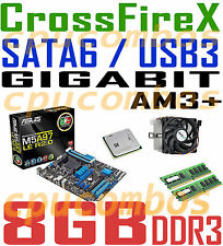 GAMING COMBO AMD FX-8350 AM3+CPU+8GB DDR3 RAM+ASUS M5A97 LE R2.0 CFX Motherboard