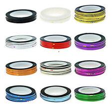 Decoración cintas de plástico para uñas