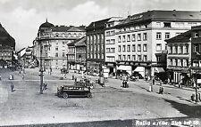 18602 Foto AK Aussig Platz der sa. Auto Laden Geschäfte 7.6.41