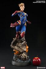 Sideshow Marvel Comics Captain Marvel Premium Format Figure Statue In Stock