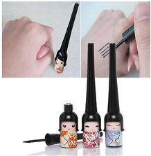 Plastic Doll Eyeliner Liquid Liner Pen Pencil Makeup Cosmetic Waterproof Black x
