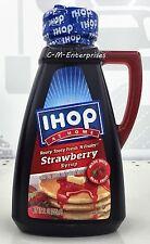 IHOP Rooty Tooty Fresh N Fruity Strawberry Pancake Syrup 12 oz