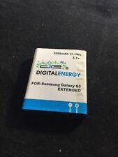 Digital Energy Samsung Galaxy S3 3000MAH Extended Battery Mint 2690