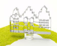 RBV Birkmann XXL Ausstecher Ausstechform Altstadthäuser Edelstahl 18 cm